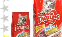 Корм для кошек Darling: отзывы, разбор состава, цена