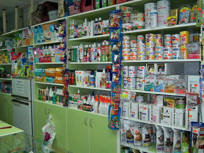 Магазин зоотоваров и лекарств для животных