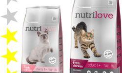 Корм для кошек Nutrilove: отзывы, разбор состава, цена