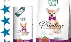 Корм для собак Optimeal Privilege: отзывы, разбор состава, цена