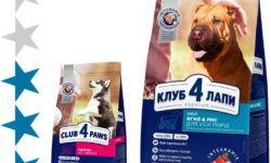 Корм для собак «Клуб 4 Лапы»: отзывы и разбор состава