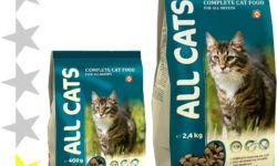 Корм для кошек All Cats: отзывы и разбор состава