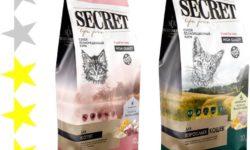 Корм для кошек Secret: отзывы, разбор состава, цена