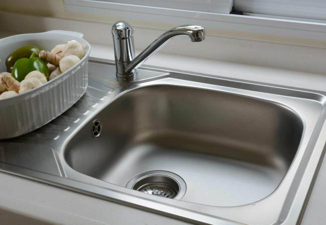 Сантехника и кухонное оборудование. Врезные мойки для кухни