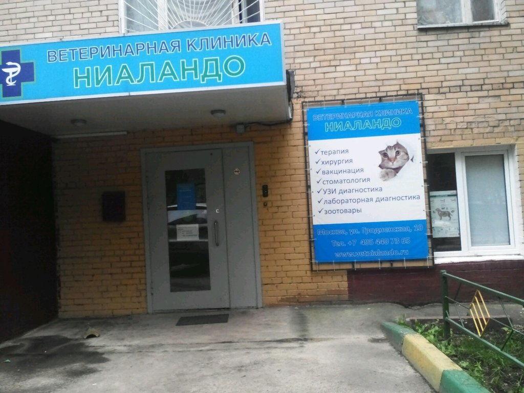"""Ветеринарная клиника """"Ниаландо"""""""
